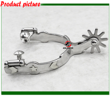 Free shipping.Stainless steel horse  spur.horse spur,horse product(RSP5125)(China)