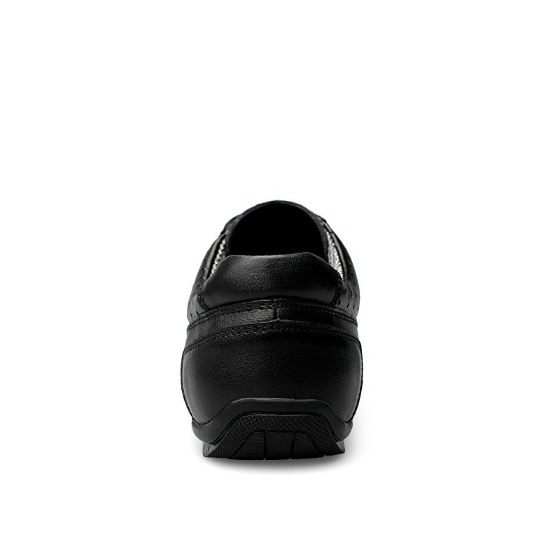36 Apartamentos Brilho Casuais Masculinos Sapatos Da Respirável Marca Genuíno Luxo Preto Couro Grande Homens Mocassins Tamanho Dos De Vbh 48 5xgc0