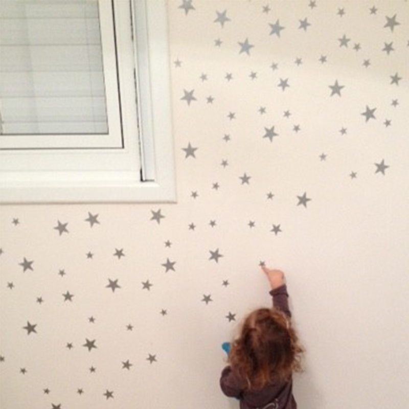89pc/set Little Stars Wall Sticker For Kids Room Baby Nursery Bedroom Children Home Decorative Wall Decals Art Kids Wall Sticker