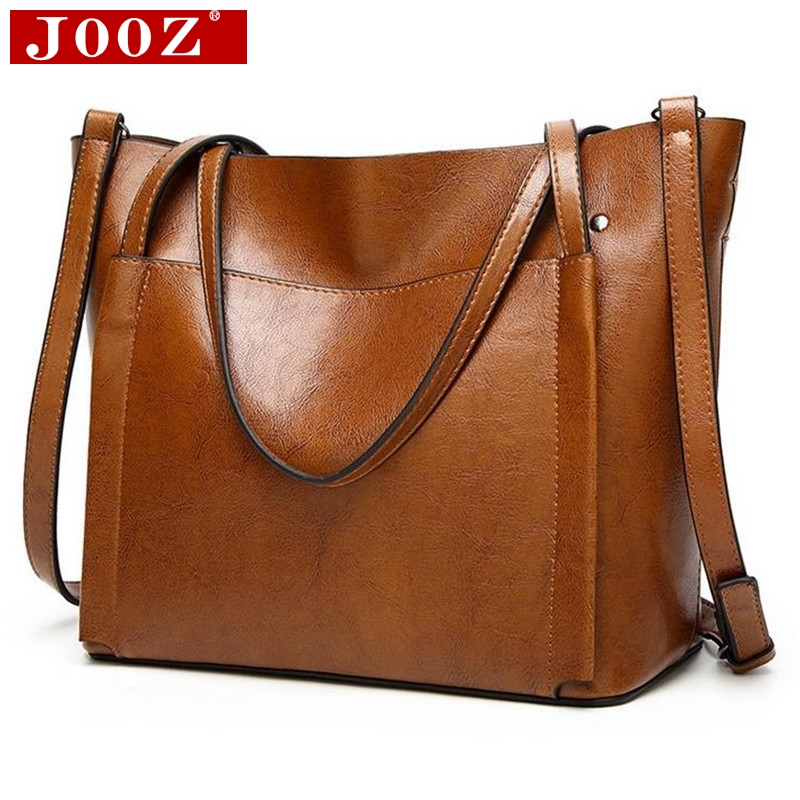 JOOZ Large Soft Leather Bag Women Handbags Ladies Crossbody Bags For Women Shoulder Bags Female Big Tote Sac A Main Famous Brand famous brand women leather handbags ladies messenger bags female shoulder crossbody bag bolsa feminina sac a main