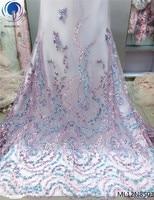 Красивая французская Цветочная кружевная ткань Африканская Свадебная кружевная ткань 3d африканская кружевная 3d Кружевная аппликация афри