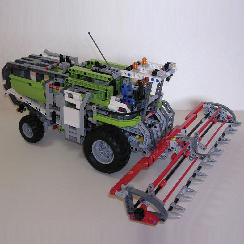 LEPIN 20041 Genuine Technic Series The Combine Harvester Set LegoINGlys 8274 Educational Building Blocks Bricks Toys Model Gift black pearl building blocks kaizi ky87010 pirates of the caribbean ship self locking bricks assembling toys 1184pcs set gift