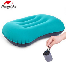 Naturehike Ultra Light Folding Concave Shape Air Pillow Inflatable Freely TPU Coating Portable Neck Pillows Outdoor Travel