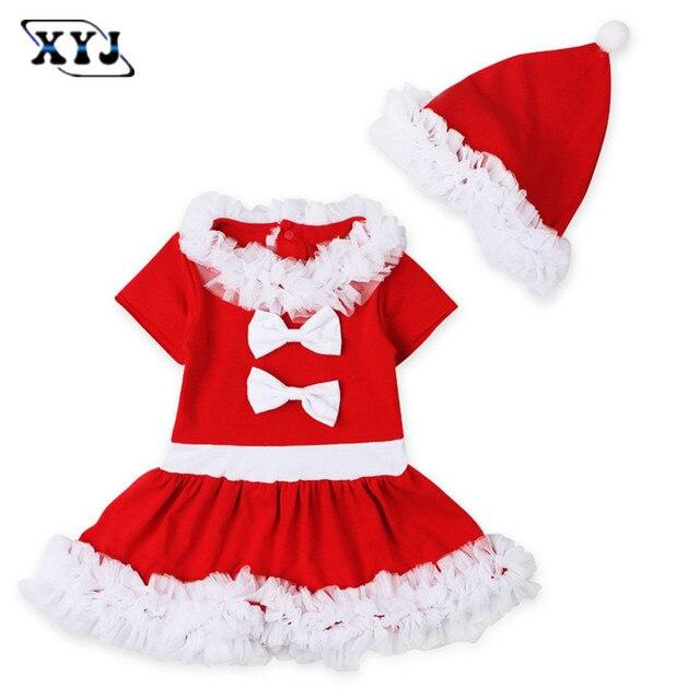 4e8c147d6a1 2017 niños bebé vestido de Navidad bebé niña tul princesa vestido de fiesta  traje de Navidad