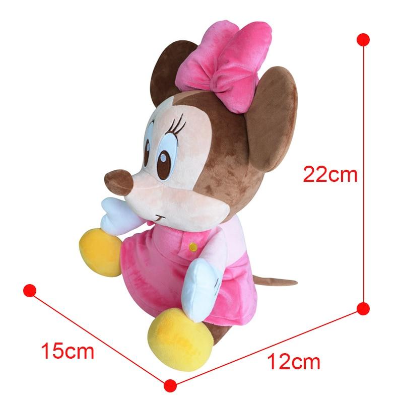 Disney Marke Mickey Mouse Minnie Maus Baumwolle Kawaii Plüsch tier ...