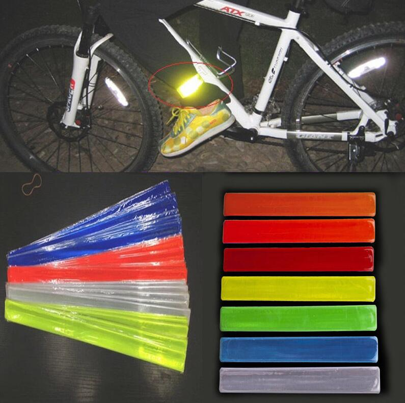 2019  new hot  Cycling Fluorescent MTB Bike Bicycle Wheel Rim Stickers Reflective Decal Tape