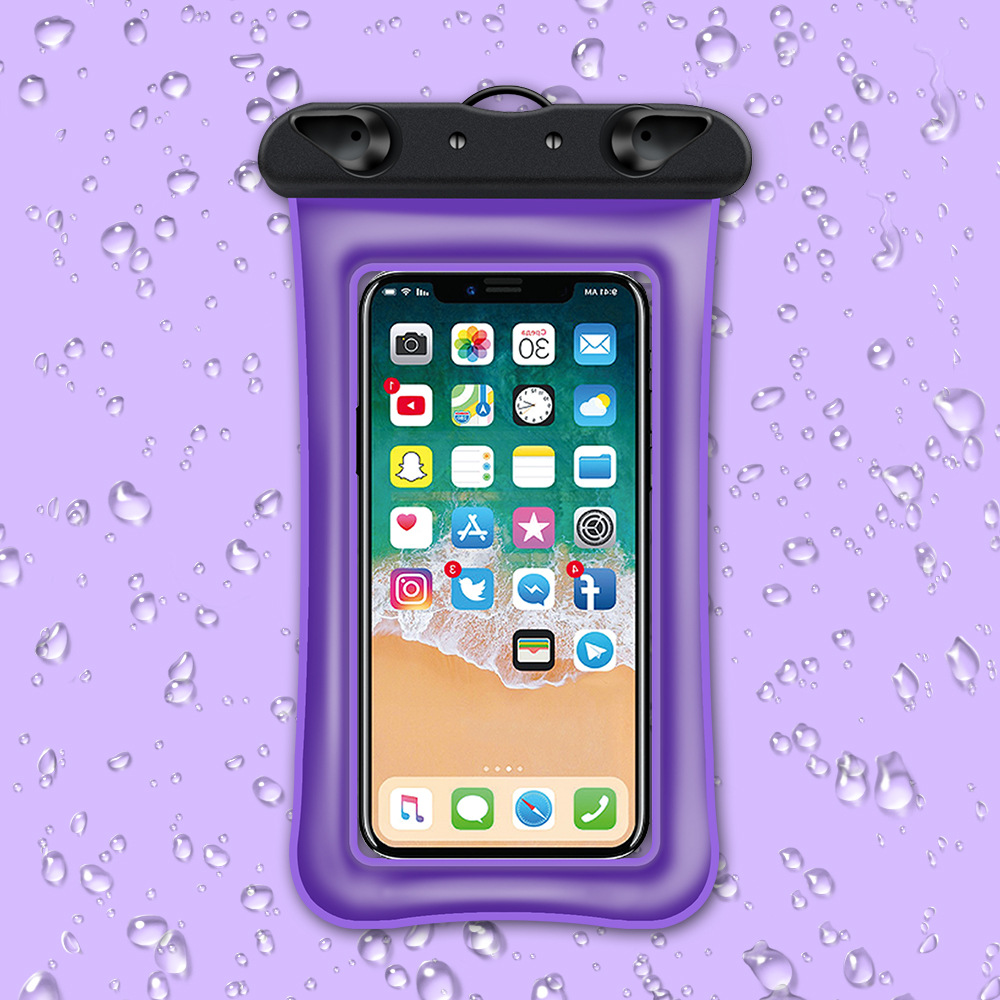 Waterproof floating phone case pouch 4