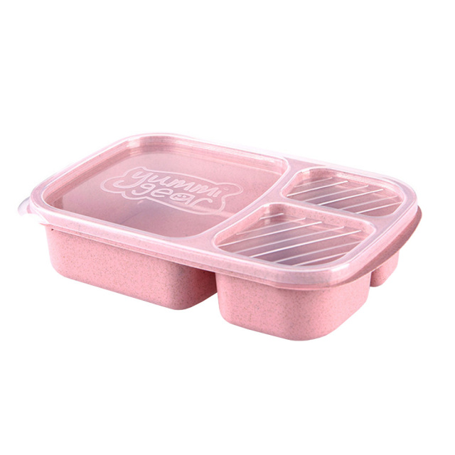 DOANTE Brand Wheat Straw Plastic Microwave Tableware Lunch Bento Box Food Storage Container Dinnerware Set Lunchbox  sc 1 st  AliExpress.com : dinnerware storage containers - Pezcame.Com