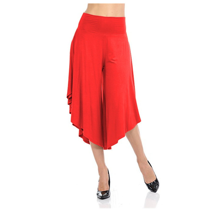 Spring Autumn Women Irregular   Wide     Leg     Pants   Elegant Loose Streetwear Trousers Women Pleated   Pants   Femme Pantalones Mujer