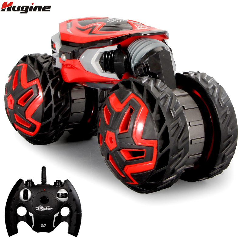 Grandes Carros RC Crawlers 4WD Corridas De Drift Controle Remoto Caminhão Roda De Torção Deformação Carro Dublê Modelo de Brinquedo Eletrônico Para Crianças