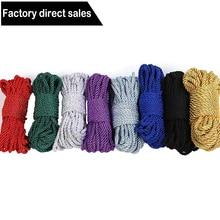 Soft Cotton Rope BDSM Bondage Silk Rope Restraints,5M 10 M Rope Cord Binding Bin