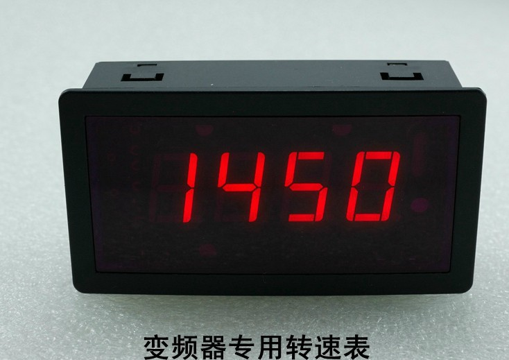 Freeshipping Digital inverter dedicated tachometer 0-10V input victor dm6235p digital tachometer