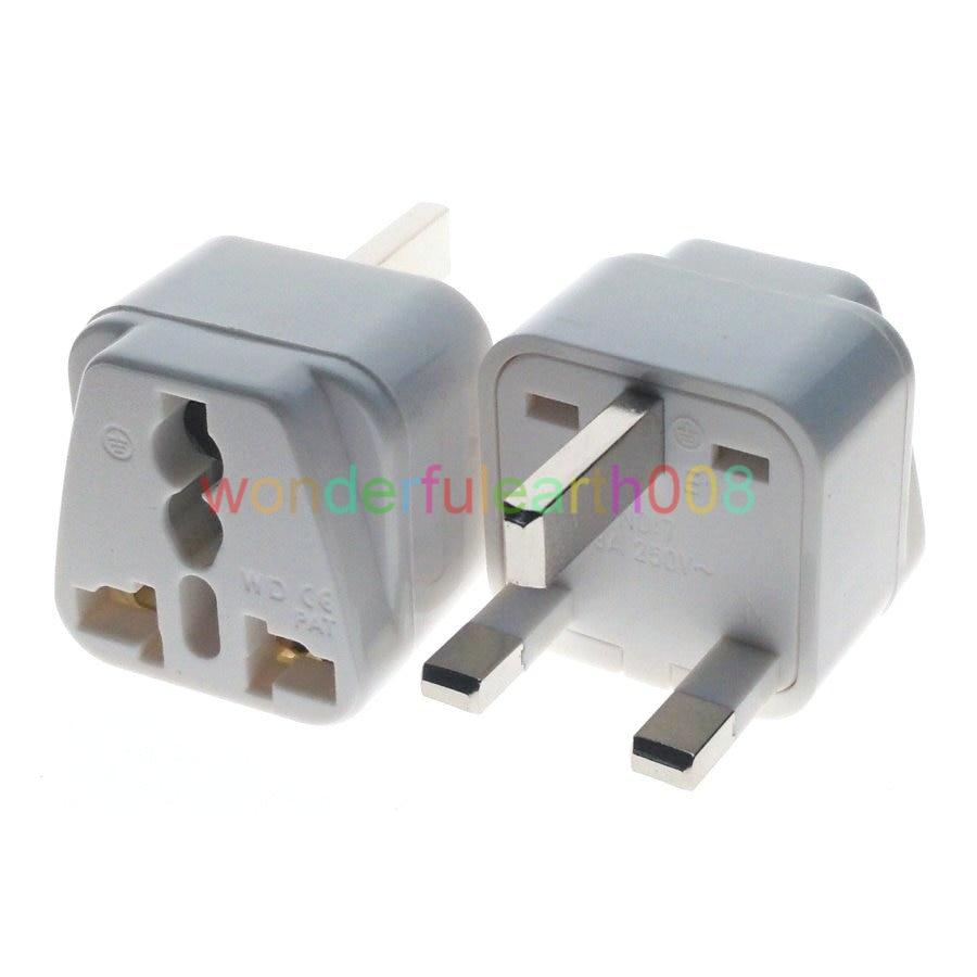 (10 PCS) UK Singapore Malaysia HK Type G Electrical Plug