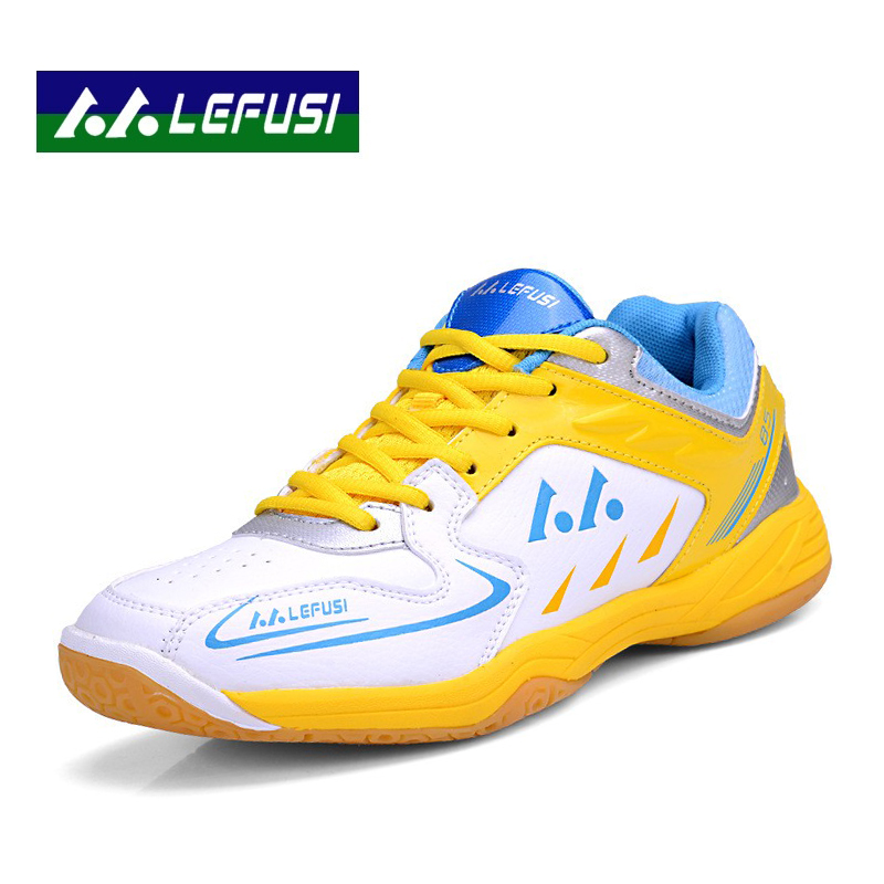Men Badminton Shoes Women Sports Shoes Breathable Anti-Slippery Boys And Girls Training Shoes B2828