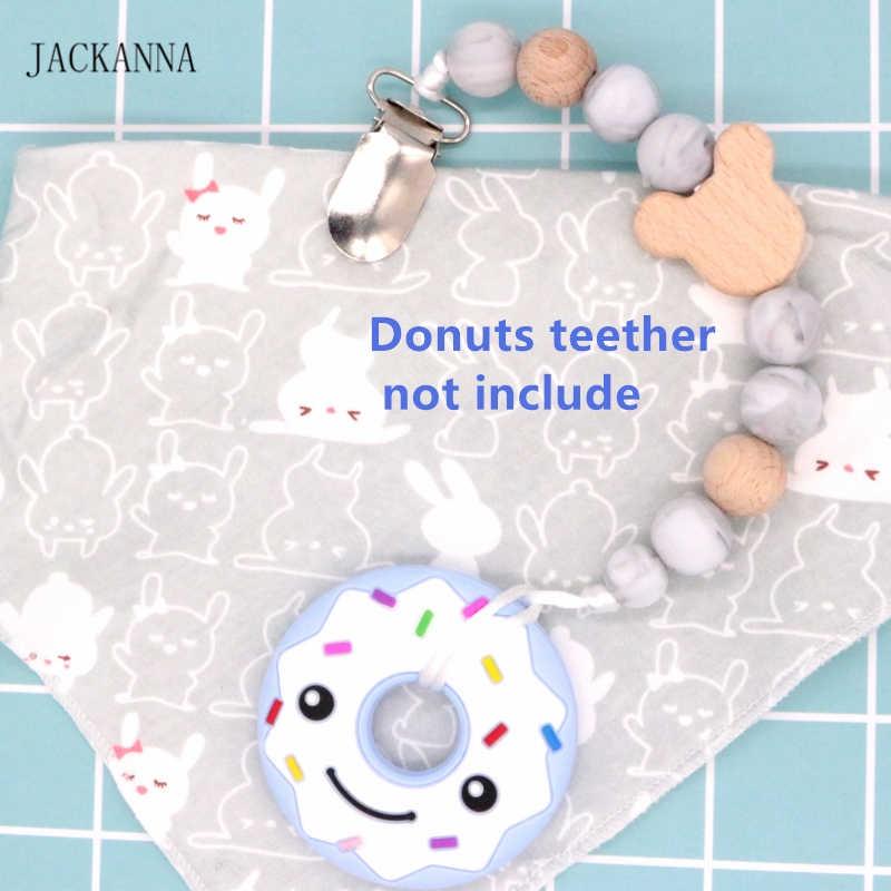 Детские пустышки зажимы младенческой силиконовые соски зажимы Микки Маус голова бисера Детское Зубное кольцо держатель, дети атташе Sucette, новорожденных душ подарки