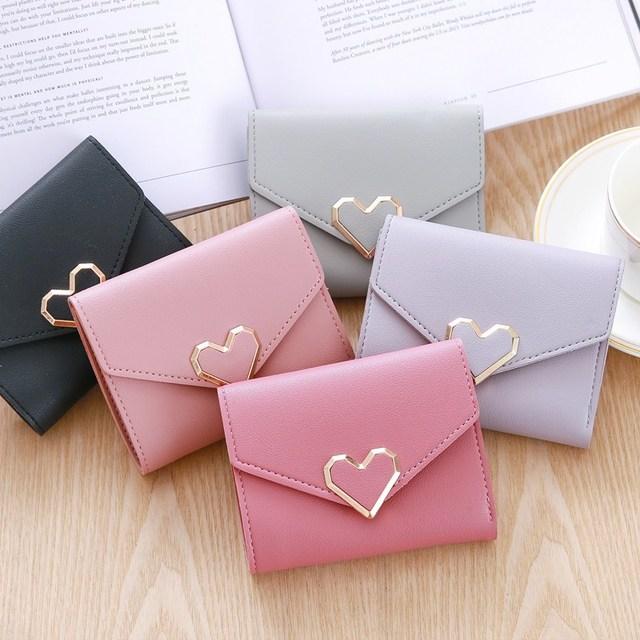 Short Wallets lovi Female Small Wallet Handbag Women Wallets and Purse Carteiras Femininas Card Holder Casual Purse Woman Clutch