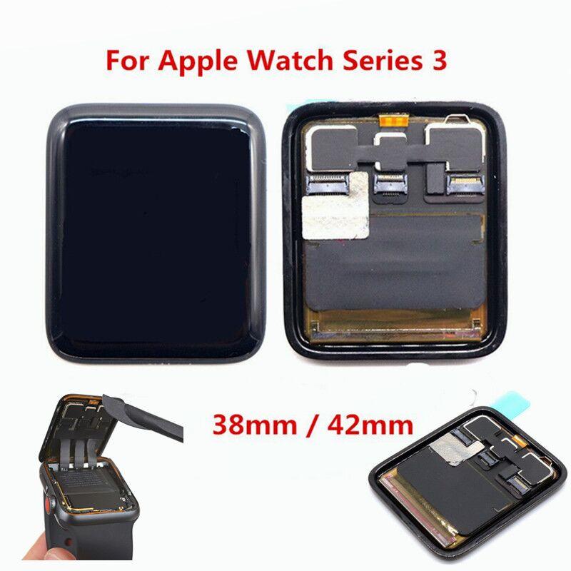 Nuevo LCD Pantalla táctil Pantalla digitalizador asamblea para Apple Watch Serie 3 38mm/42mm Pantalla reemplazo partes GPS