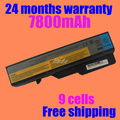 Jigu bateria para lenovo ideapad g460 g460a g460l g560 v360 z460 z465 z560 z565 lo9s6y02 lo9l6y02 57y6454 57y6455 l09s6y02