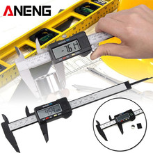 ANENG 0-150mm 6inch Plastic LCD Digital Electronic Vernier Caliper Rule mm/inch Micrometer Measuring Tools 150mm