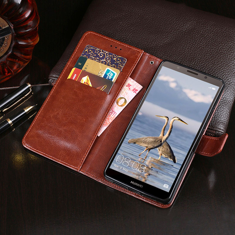 For Huawei Honor 7S Case Business Style Flip Wallet Leather Fundas Cover for Huawei Honor 7S Case Mobile Phone Bag Accessories