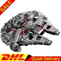 LEPIN 05033 5265Pcs Star Wars Ultimate Collector S Millennium Falcon Building Block Set Bricks Lepins Toys