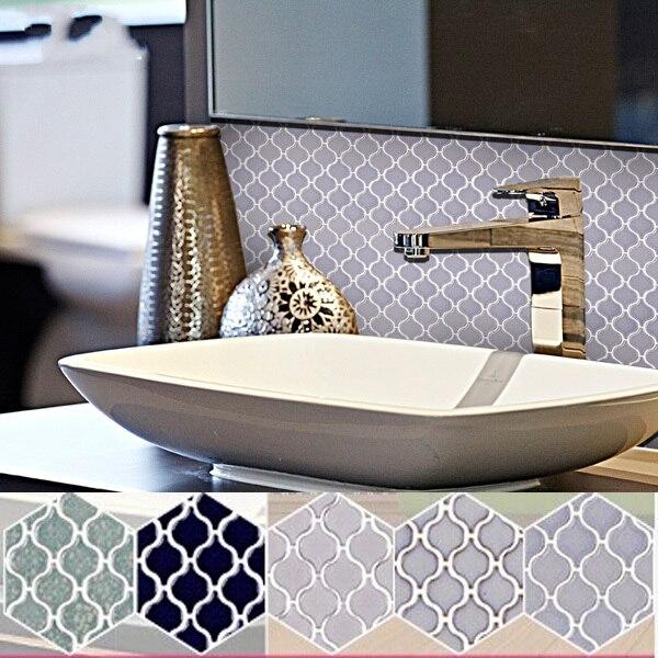 New Style Lantern Ceramic Mosaic Tiles living room wall tiles
