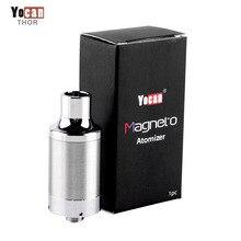 Magneto Original Yocan Cera Atomizador vape cigarro eletrônico Atomizadores Bobina Magnética Cap fit bobinas de Cerâmica evitar vazamentos E cig