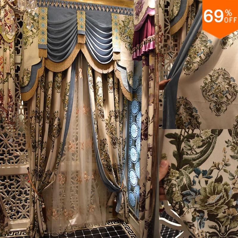 Acquista all'ingrosso Online grey lace curtains da Grossisti grey ...