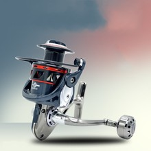 Metal Coil Spinning Fishing Reel 13 Ball Bearing LM2000-7000 Series 5.2:1 Boat Rock Reels fishing tackle