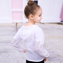Summer Sun Protection Clothes Hoodies Kids Girls Outdoor Beach Jackets Shirt Toddler Thin Waterproof Casual Coats