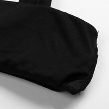 Women Bikini Wide Straps Padded Bandeau Bikini Set Neck Pullover Swimsuit