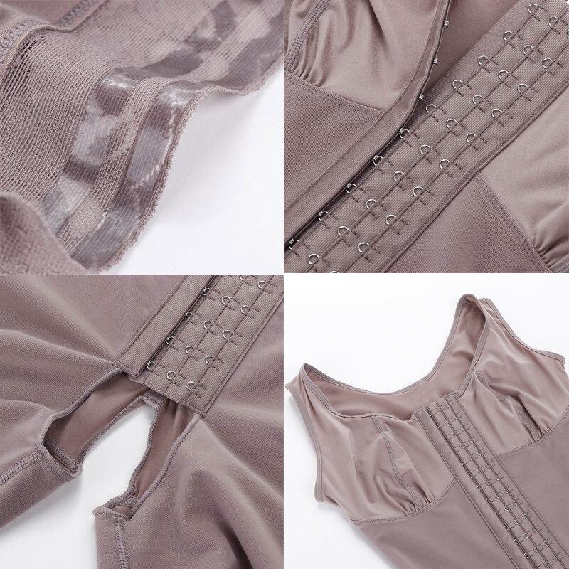 Full Body Shaper Thick Belt Waist Trainer Butt Lifter Thigh Reducer Panties Tummy Control Push Up Shapewear Corset Bodysuits