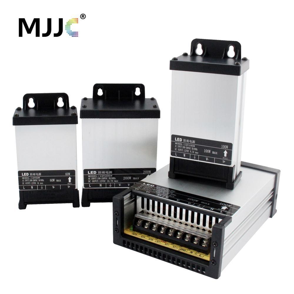 Alimentation 12 V 20A 5A 60 W 100 W 200 W 400 W 12 Volts fournir AC DC Transformateur 220 V 12 V Extérieure pour LED Bande Bande Étanche À La Pluie