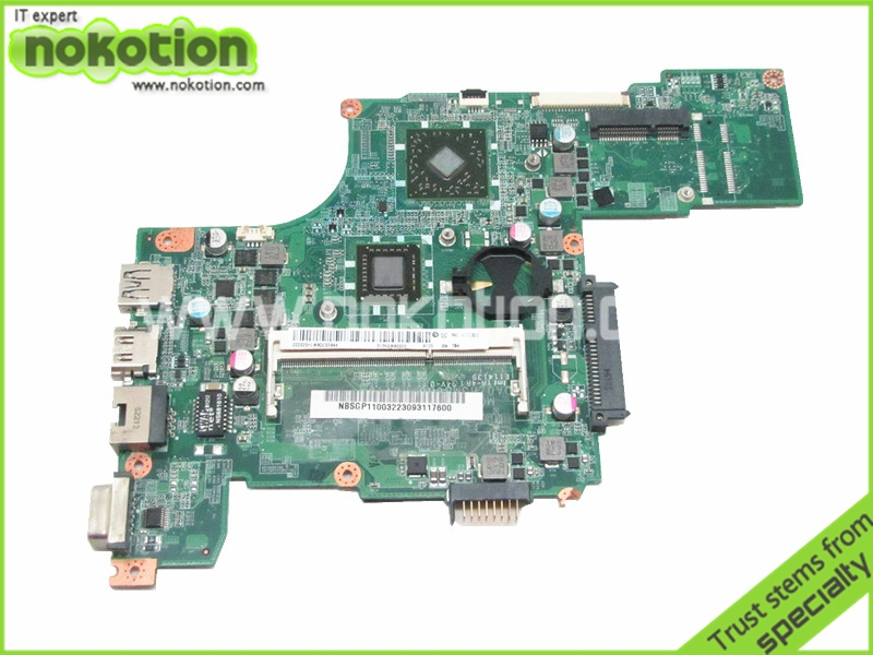NBSGP11004 DA0ZHGMB6D0 for acer aspire one 725 font b MOTHERBOARD b font AMD C60 DDR3