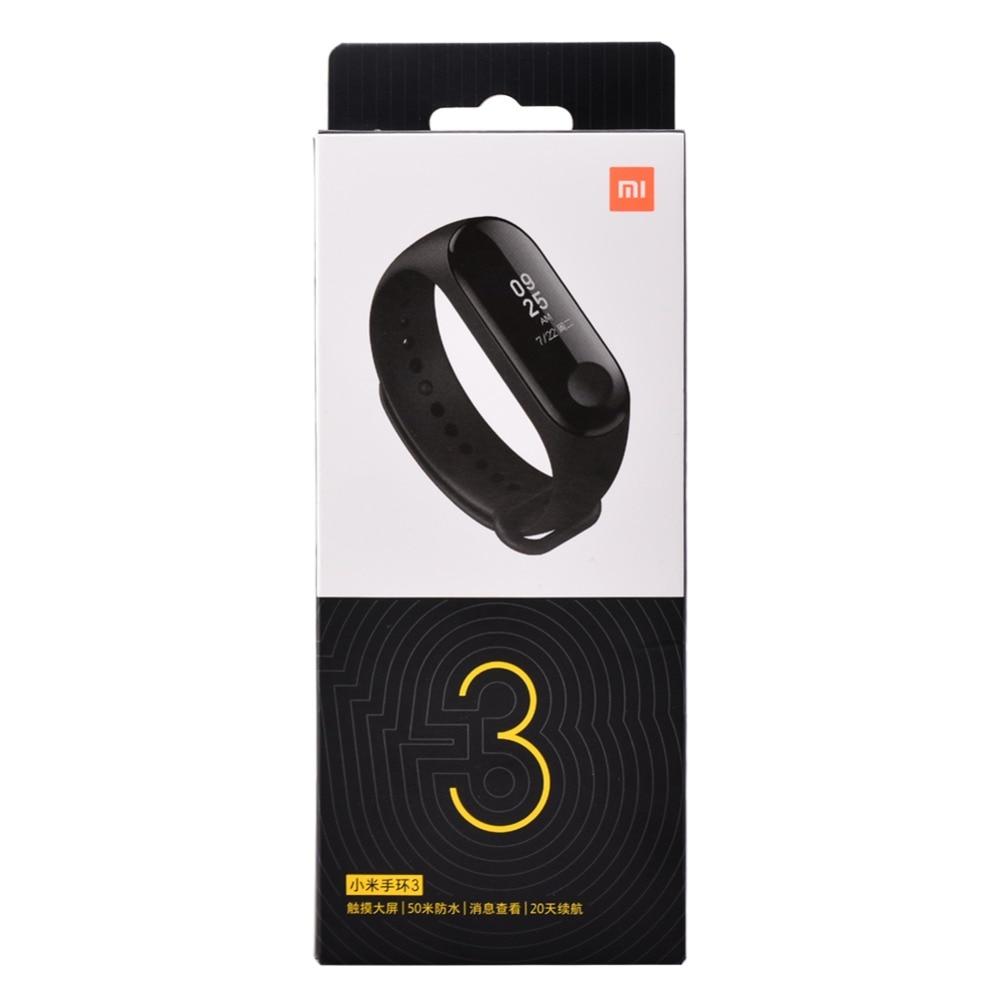 "Original Mi Band 3 Fitness Tracker Smart Bracelet 0.78""Color Screen 5ATM Waterproof Heart Rate Monitor Global Smartband In Stock 15"