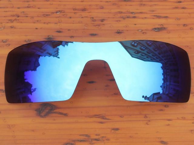 Policarbonato-Gelo Azul Espelho Lentes de Reposição Para óculos de Sol da  Plataforma Petrolífera Quadro 26998b35d7