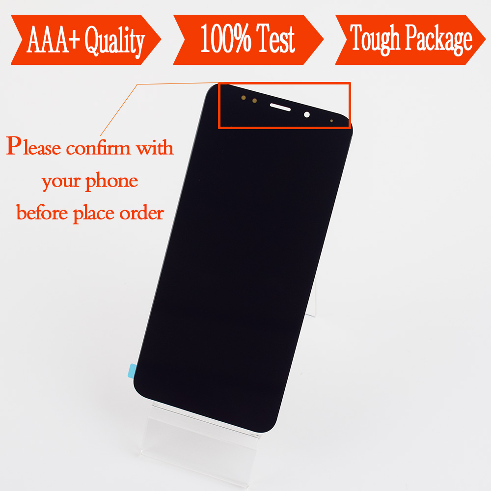 For Xiaomi Redmi 5 Plus Redmi Note 5 Note5 Touch Screen Digitizer Sensor Glass + LCD Display Monitor Panel Module AssemblyFor Xiaomi Redmi 5 Plus Redmi Note 5 Note5 Touch Screen Digitizer Sensor Glass + LCD Display Monitor Panel Module Assembly
