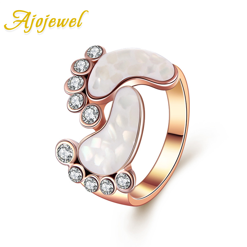 Ajojewel Lovely Style Rose Gold...
