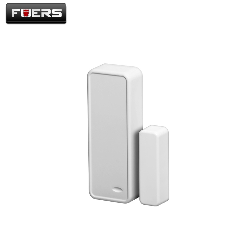 Wireless Door/Window Sensor Detector with Battery for GSM Alarm System Home Security G90B Wifi Alarm 433Mhz wireless vibration break breakage glass sensor detector 433mhz for alarm system
