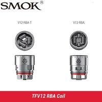 Original SMOK TFV12 Coil V12 RBA Dual Coil Deck V12 RBA T Triple Coil Deck Fit