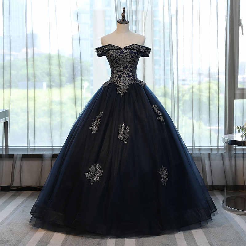 Ruthshen夜会服ゴールドアップリケvestidosデ 15 大人のドレスレッドショルダースウィートシックスティーンドレスデビュタントのドレス