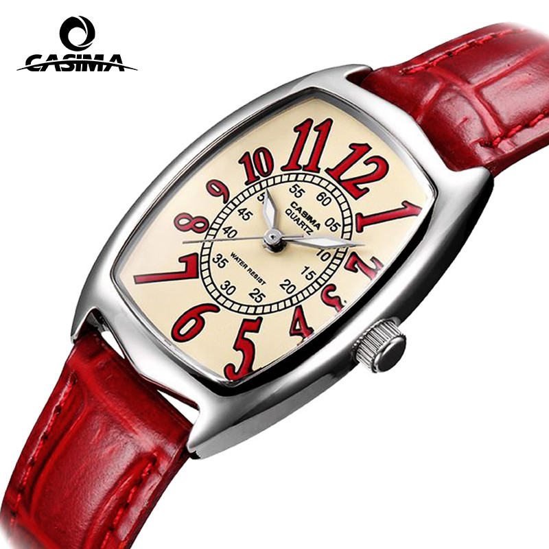 цена  Luxury Brand CASIMA Women Quartz Watches montre femme Fashion Diamond Crystal Ladies Watch waterproof 50m reloj mujer  онлайн в 2017 году