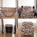 Case sofa cover winter plush high quality modern colorful printed sectional corner couch l shaped universal stretch sofa covers