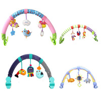Several Kinds New Cute Spiral Activity Stroller Car Seat Cot Babyplay Travel Toys Newborn Baby Rattles
