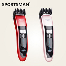 High Quality Rechargeable Hair Trimmer Waterproof Electric Hair Clipper Professional Hair Cutting Machine Cordless Beard Trimmer