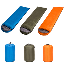 Portable Outdoor Envelope Sleeping Bag  Lightweight Waterproof 4 Season Camping Hiking Sack
