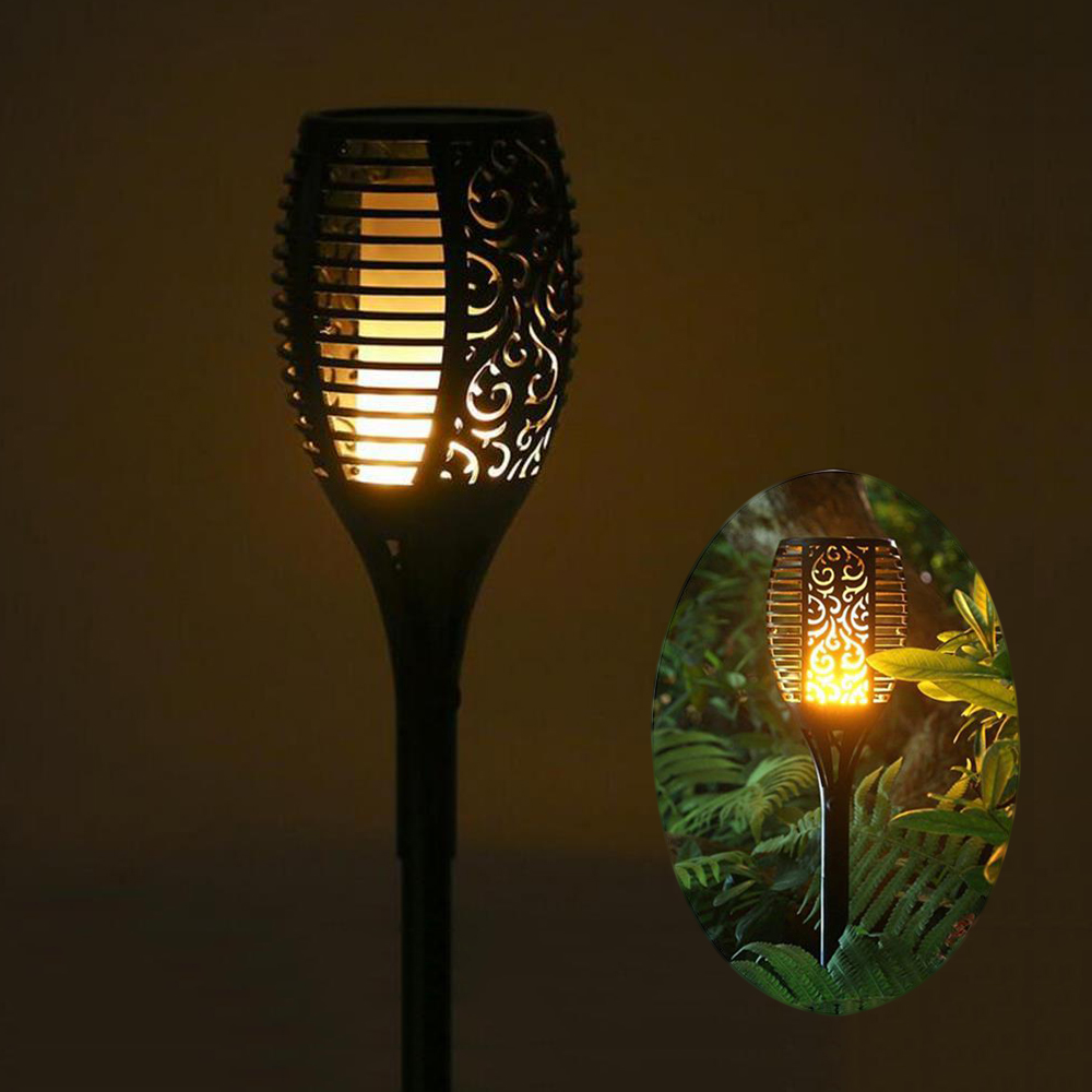 2 stücke wasserdichte led solar garten lichter solar led rasen lampe