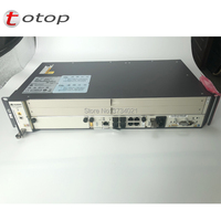 Huawei FTTH GPON OLT 5608T with 1 * MCUD1 10G uplink control board 1*MPWD AC Power 1*8 ports Service board includ sfp c++
