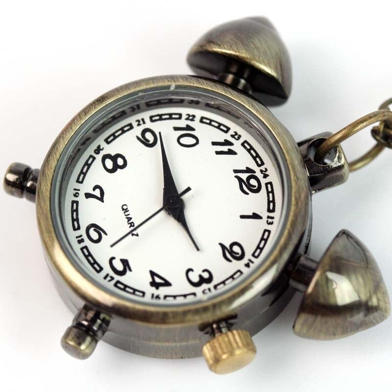wholesale BRONZE CLOCK LADY WOMENS QUARTZ NECKLACE POCKET WATCH