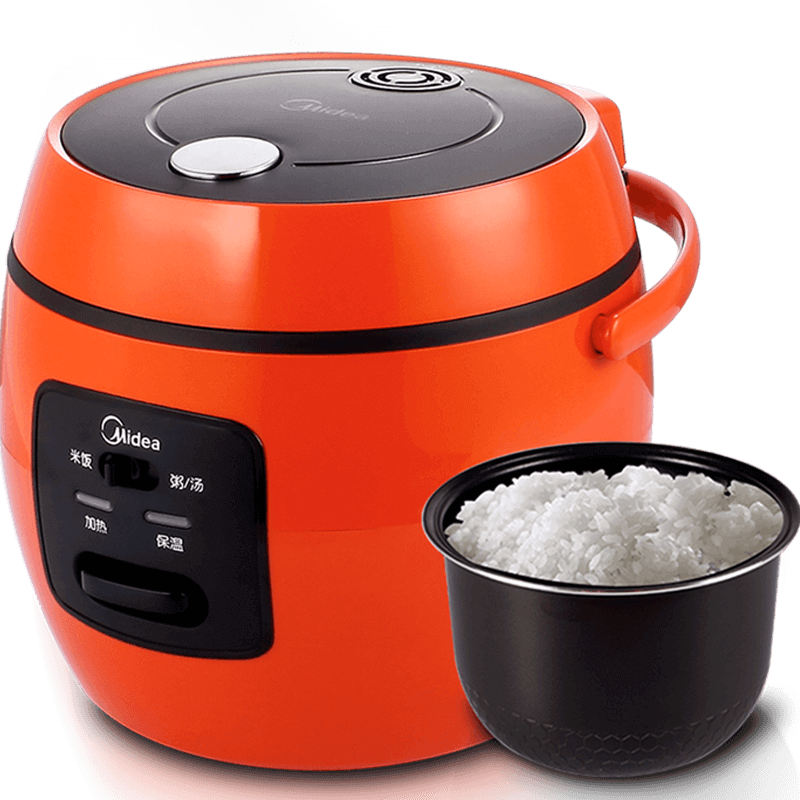 Rice Cooker Portable Heating Insulation A Key To Open The Cover 2L Automatic Power-off 1-2 People rice cooker parts steam pressure release valve